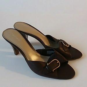 Merona Leather Heels 8